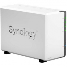 Test Multimedia-Festplatten -  Synology DiskStation DS212j