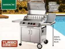 aldi gardenline gasgrill monroe 3k grillger te im test. Black Bedroom Furniture Sets. Home Design Ideas