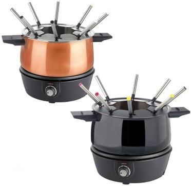 Elektrisches fondue test