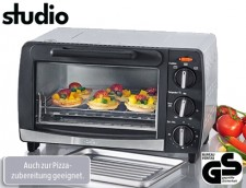 Test Pizzaöfen - Aldi Studio Mini-Backofen