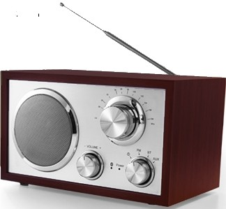 Aldi Terris Nostalgie Radio NRB 264 mit Bluetooth Funktion Test - 0
