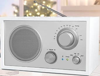 Aldi Terris Nostalgie Radio NRB 264 mit Bluetooth Funktion Test - 1