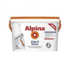 alpina 2in1 weiss wandfarben im test