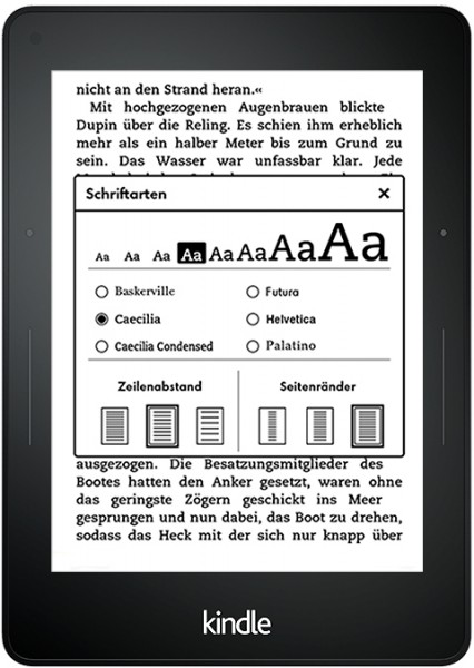 Amazon Kindle Voyage Test - 1