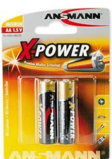 Test Einweg-Batterien - Ansmann Alkaline X-Power