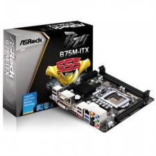 Test Mini-ITX Mainboards - Asrock B75M-ITX
