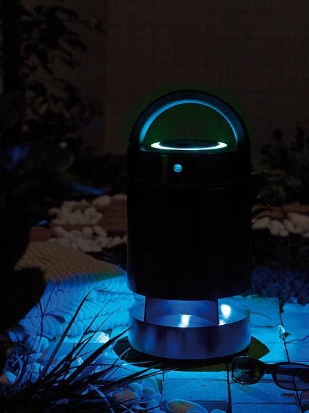 auvisio aktiver outdoor lautsprecher drahtlose. Black Bedroom Furniture Sets. Home Design Ideas