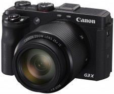Test Kameras mit Touchscreen - Canon PowerShot G3 X