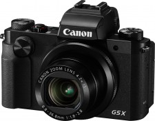 Test Kameras mit Touchscreen - Canon PowerShot G5 X