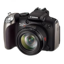 Test Bridgekameras mit Batterien - Canon PowerShot SX20 IS