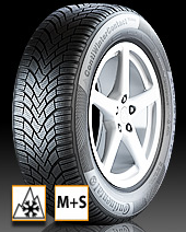 Test Winterreifen - Continental ContiWinter-Contact TS850 (195/65 R15 T)