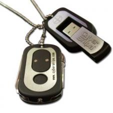 Test USB-Sticks mit 4 GB - Cyber Snipa Dog Tags