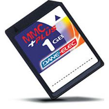 Test Multi Media Card (MMC) - Dane-Elec MMC plus
