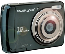 Test Digitalkameras mit Batterien - Easypix V1016 Swing