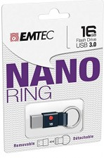 Test USB-Sticks mit USB 3.0 - Emtec T100 Nano Ring