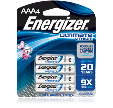energizer ultimate lithium aaa einweg batterien im test. Black Bedroom Furniture Sets. Home Design Ideas
