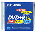 Test DVD-R/+R Double Layer (8,5 GB) - Fujifilm Double Layer DVD+R 2,4x