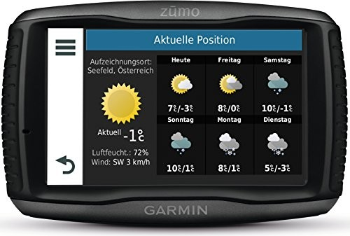 garmin zumo 595lm navigationssysteme im test. Black Bedroom Furniture Sets. Home Design Ideas