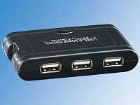 Test USB-Hubs - Gembird 4 Port USB 3.0 Hub