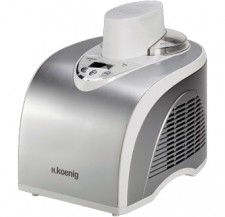 Test Eismaschinen mit Kompressor - H.Koenig Ice Cream Maker HF180