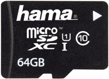 Test Secure Digital (SD) - Hama 64 GB Class 10 UHS-I Micro-SDXC