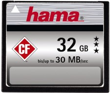 Test Compact Flash (CF) - Hama CF 200x 30MB/s UDMA