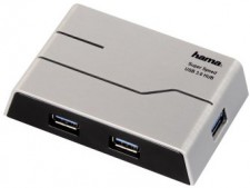 Test USB-Hubs - Hama USB Hub 4-Port (39879)