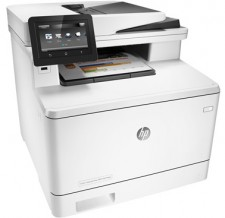 Test Farb-Laserdrucker - HP CL Pro M477fdn
