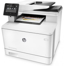 Test Farb-Laserdrucker - HP Color LaserJet MFP M477FDW