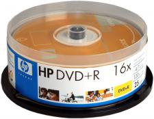 Test DVD-R - HP DVD-R 16x
