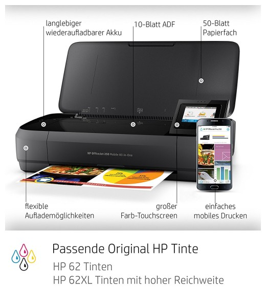 HP Officejet 250 Test - 0