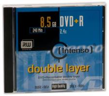 Test DVD-R/+R Double Layer (8,5 GB) - Intenso DVD+R Double Layer 2,4x