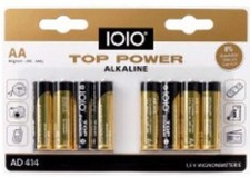 Test Einweg-Batterien - IOIO Top Power AD 414