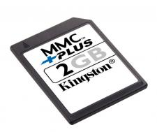 Test Multi Media Card (MMC) - Kingston MMC plus