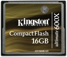 Test Compact Flash (CF) - Kingston Ultimate CF 90MB/s 600x