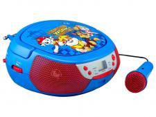 Test Soundbars - ekids Paw Patrol CD Player mit Mikrofon für Kinder tragbar PW-430