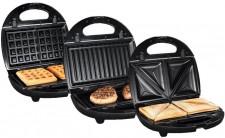 lidl silvercrest 3 in 1 sandwichmaker im test. Black Bedroom Furniture Sets. Home Design Ideas