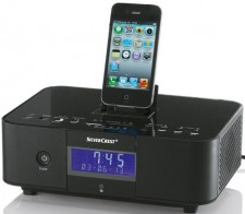 Test Dockingstationen - Lidl Silvercrest Radiowecker mit Dockingstation