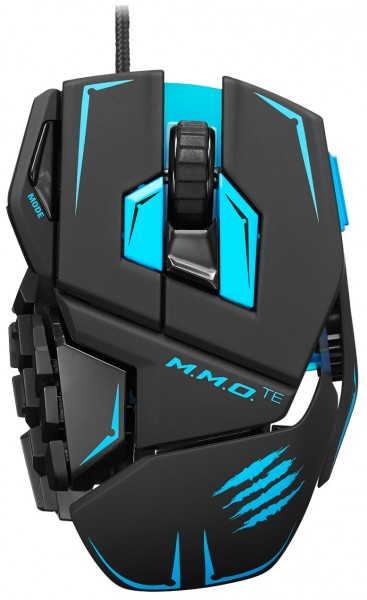 Mad Catz M.M.O. TE Gaming Mouse Test - 0