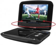 Test DVD-Player - Medion Life E72051 17,78 cm (7'') Tragbarer DVD-Player