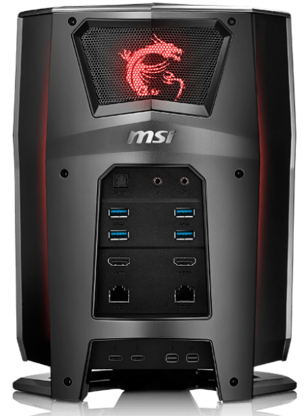 MSI Vortex G65-6QF SLI Test - 1