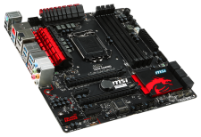 Test Micro-ATX (µATX) Mainboards - MSI Z87M Gaming