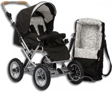 Test Kinderwagen - Naturkind Terra Plus