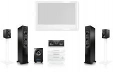 Test Soundsysteme - Nubert 5.1-nuBox-Set