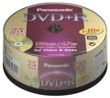 Test DVD-R - Panasonic DVD-R 4,7 GB 1-16x