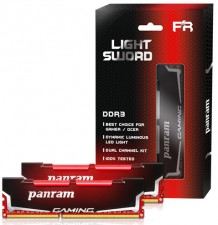 Test DDR3 - Panram Light Sword 2x4 GB DDR3-2400