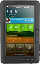 Test eBook-Reader bis 50 Euro - Pearl eLyricon EBX-720.Touch