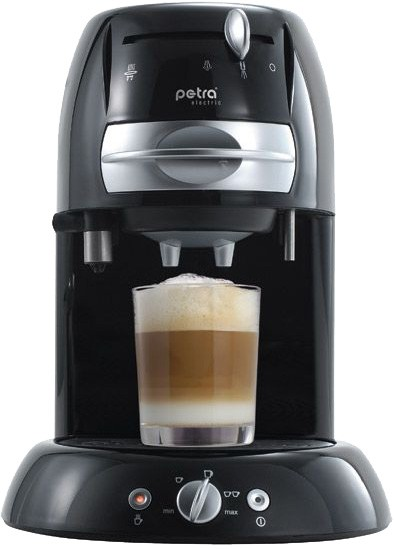 petra electric 4 in 1 km kaffeemaschinen im test. Black Bedroom Furniture Sets. Home Design Ideas