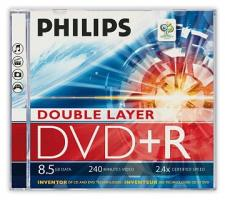 Test DVD-R/+R Double Layer (8,5 GB) - Philips DVD+R DL 2,4x