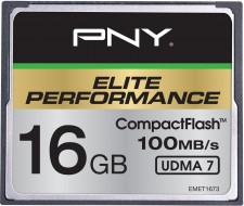 Test Speicherkarten - PNY Elite Performance CF 100MB/s UDMA 7